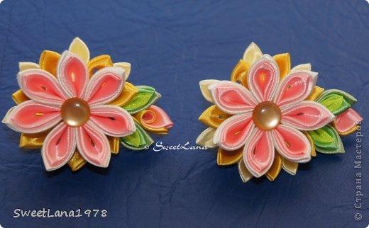 Комплект для маленькой модницы: ободок+браслетик. фото 10