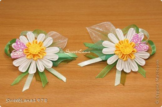 Комплект для маленькой модницы: ободок+браслетик. фото 9