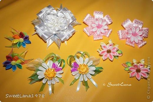 Комплект для маленькой модницы: ободок+браслетик. фото 12