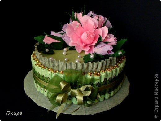 Мой первый торт...основывалась на https://stranamasterov.ru/node/305915?tid=451%2C1707... фото 1