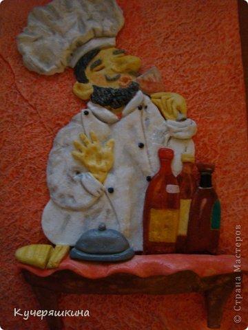 Вот такой у меня повар - дегустатор вин...))  фото 1