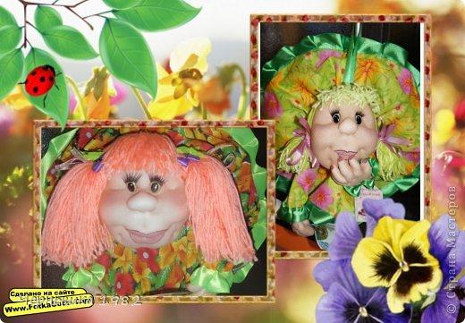 Здравствуйте дорогие мастерицы! Ну вот и я могу показать своих кукол, которые были сшиты в подарок по осенней игре замечательным людям. Имени пока у них нет, но новые хозяйки обязательно им дадут.  фото 1