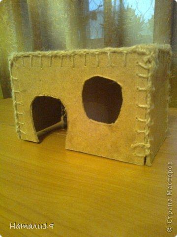 Как сделать для хомяка домик из бумаги