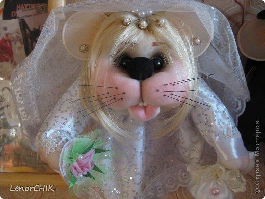 Привет СТРАНА! Хочу показать Вам немного новенького)))  Это свадебные мышки. Жених в новом образе))) фото 2