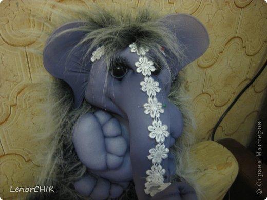 Всем приветики! Заказала мне одна дама слона для дочки 2-х лет. Как в мульте *По дороге с облаками*. Я долго думала КАК воплотить эту идею.  фото 3