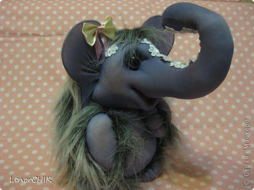 Всем приветики! Заказала мне одна дама слона для дочки 2-х лет. Как в мульте *По дороге с облаками*. Я долго думала КАК воплотить эту идею.  фото 5