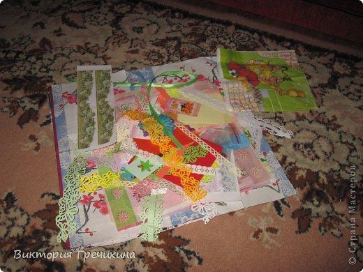 Решила я сделать маленький отчет о всех моих присланных карточках и материалах!  фото 2