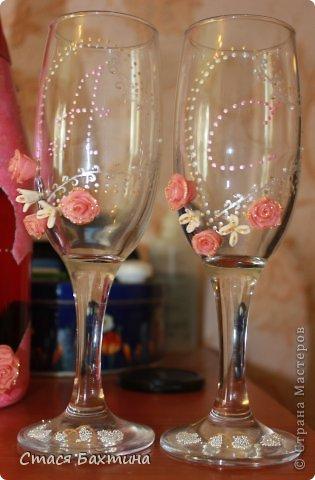 вот такой вот набор получился у меня на свадьбу моих друзей....делалось от души и со всем сердцем ))) фото 2