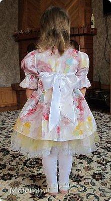 """Хоть в графе """"событие"""" я и поставила """"не определено"""", но нарядные платья нам понадобились на Всемирный день Музыки. Вот!)) фото 9"""