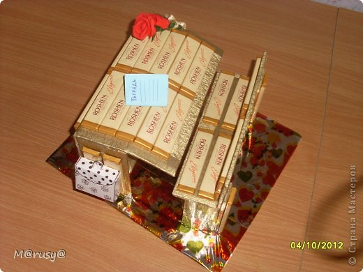 Всем здрассттииии!!!!!!!!!!!!!!!!!!! Вот такие подарки я сделала нашим учителям предметникам. Три дня не покладая ручек. И зачем спрашивается я согласилась войти в род.комитет)))))))))))))))) фото 9
