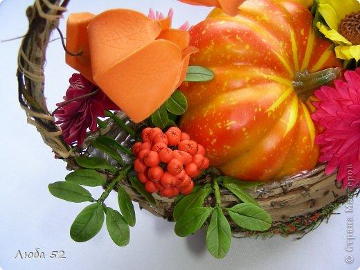 Осень в корзинке! фото 4