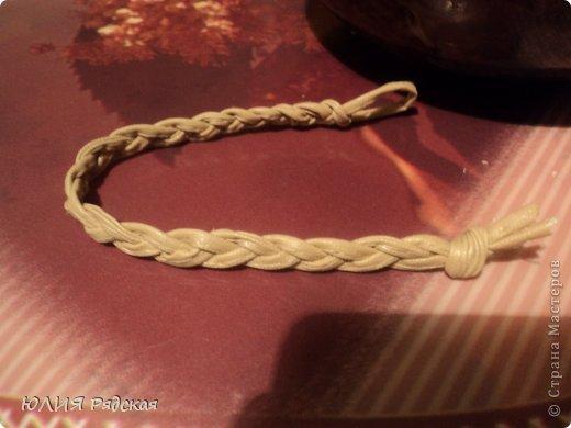 вот захотелось мне браслетик. столько красивых браслетиков в СМ. Начала с простого. Потом что нибудь по круче наверчу)))) фото 4