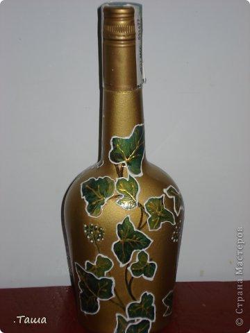 Такая бутылочка у меня уже была, но клиенты просят повторять ее снова и снова, уже и не помню сколько раз ее делала)) фото 3