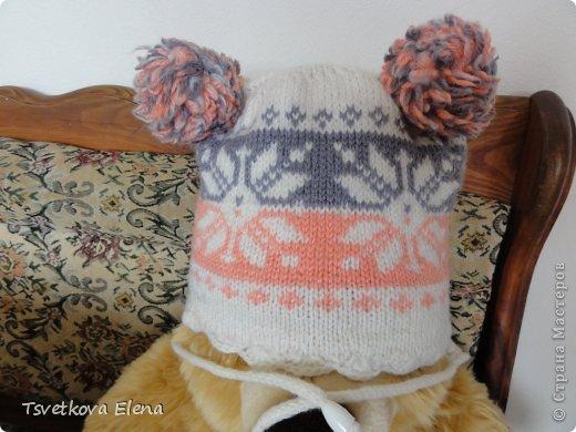 Зимняя шапка  фото 1