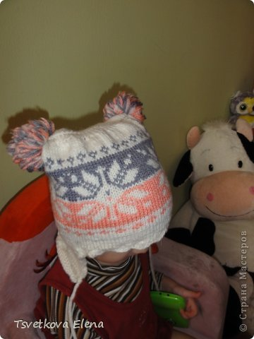 Зимняя шапка  фото 3