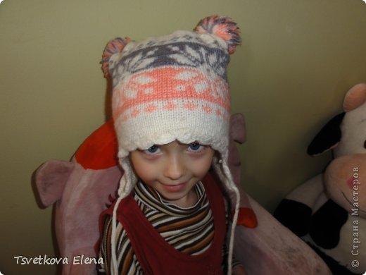 Зимняя шапка  фото 2