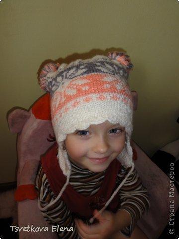 Зимняя шапка  фото 4