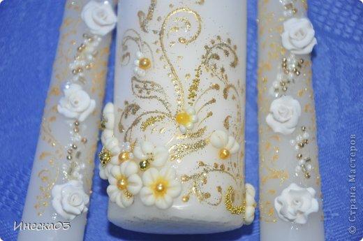 Свадебный сезон потихонько дает о себе знать.Покупаются пока только мои свечи -поэтому сделала еще партию. фото 6
