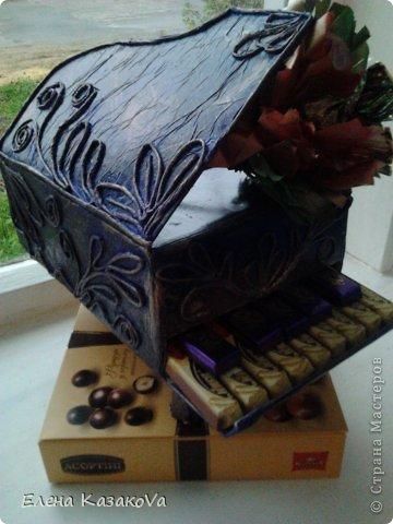 Короче....меня поперло)))) Потянуло на сладенькое))) А тут ещё роялей замечательных насмотрелась на страничках у Saphir, 35  ОлькаVi и mamaNiM..Делала правда не так, но идею утащила,  в чем честно признаюсь)))) фото 2