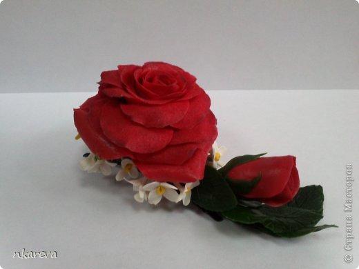 Бархатная роза фото 3