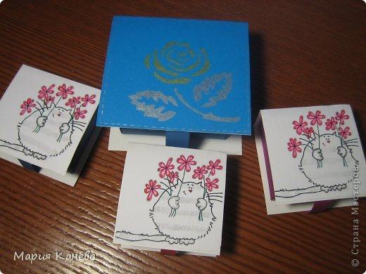 Сделала коробочки с мылом для учителей фото 1
