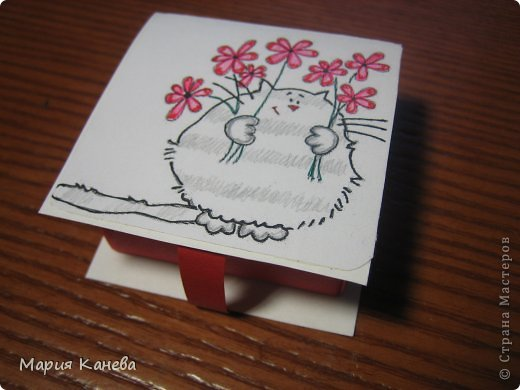Сделала коробочки с мылом для учителей фото 2