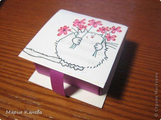 Сделала коробочки с мылом для учителей фото 3