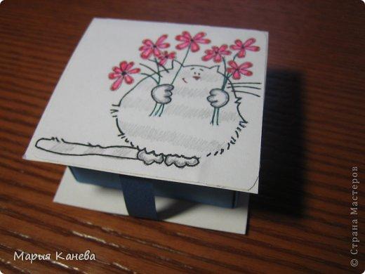 Сделала коробочки с мылом для учителей фото 4