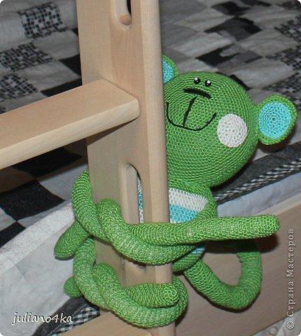 связала обезьянку на годик сыночку))) фото 1