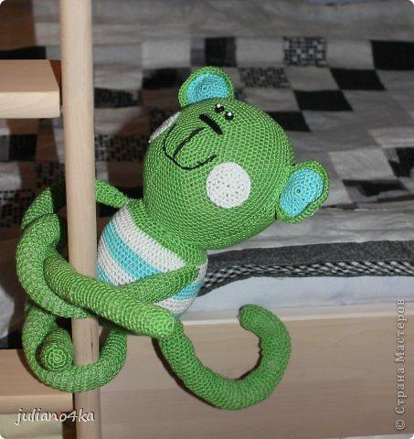 связала обезьянку на годик сыночку))) фото 2