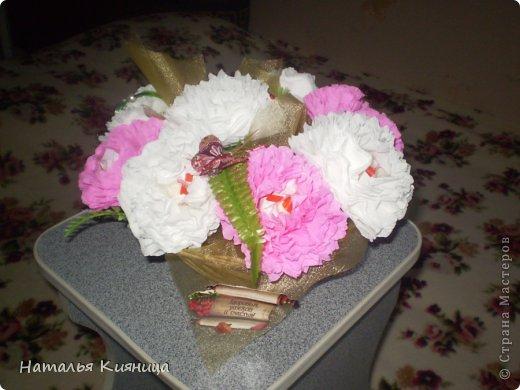 Спасибо  Ольга RODI за идею и вдохновение,Мария Кац за МК! Очень понравилось делать пиончики-хризантемки: быстро, ярко и нарядно! фото 2