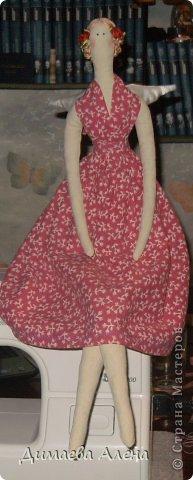 Моя первая кукла Тильда, по имени Мэрилин фото 1