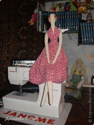 Моя первая кукла Тильда, по имени Мэрилин фото 2