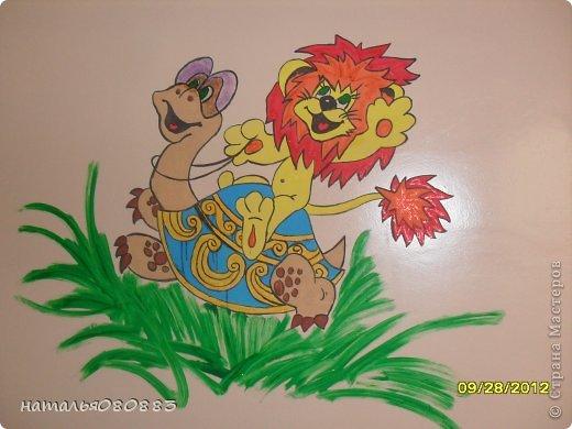 львенок с черепахой фото 1