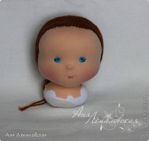 МК волосы вальдорфской кукле фото 2