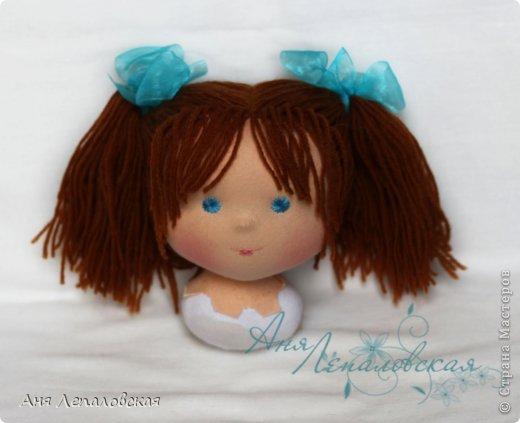 МК волосы вальдорфской кукле фото 30