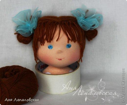 МК волосы вальдорфской кукле фото 1