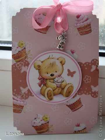 розовая с пироженками)) фото 1