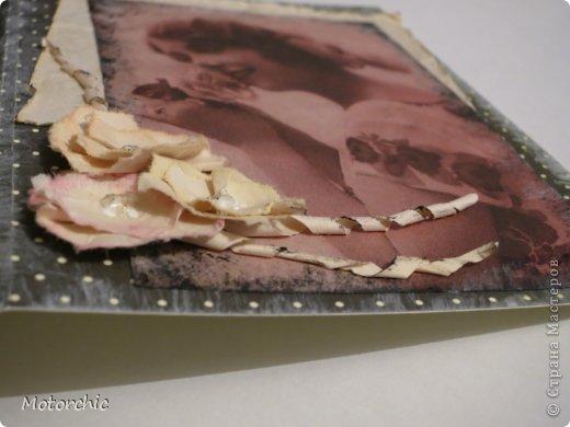 Ну как винтажная...скорее попытка =) Просто купила декупажную карту с винтажными картинками и решила ее употребить не по назначению. фото 3