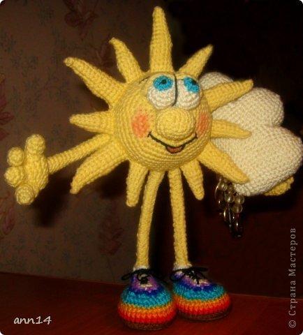 Солнышко с облачком фото 3