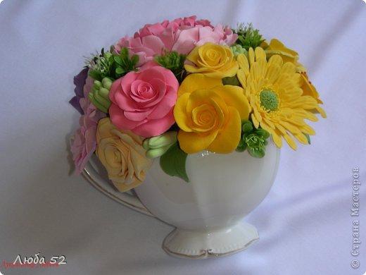 Розы,герберы и пионы! фото 3
