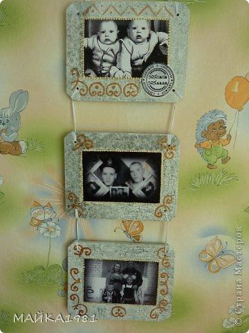 Пано на юбилей близнецам.Первые две доски одинаковые а третьи разные уже с семьями. фото 7
