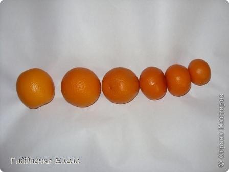 """После лимонных презентиков посетило меня цитрусовое вдохновение. Вот """"апельсиновый результат"""". 5 подарков: - апельсиновая подвеска - апельсиновая конфетка - цитрусовая змейка - весёлый шарик - новогодний витамин Почти все эти подарочки можно использовать в композициях сконфетами. фото 14"""