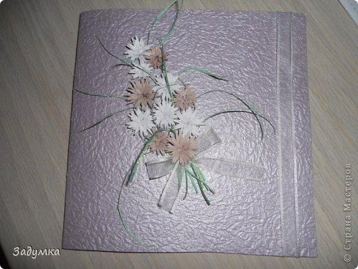 Вот такая открыточка получилась на бумажную свадьбу друзей как делать цветочки вот здесь МК Кочевницы https://stranamasterov.ru/node/26506 фото 1