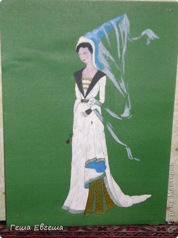 Эту серию исторических костюмов я создавала еще учась в колледже. фото 6
