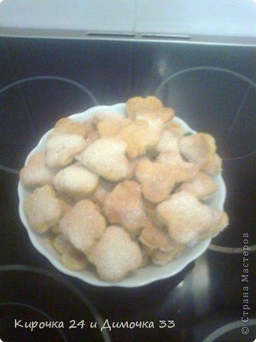 Сахарные печеньки за 20 минут фото 1