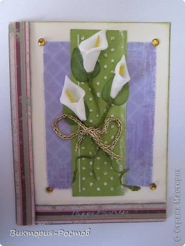Ура...вспомнила свои любимый квиллинг и вот какая открыточка у меня получилась:) фото 8