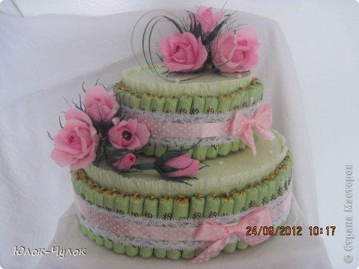 доброго всем дня. сегодня я хочу показать свои тортики. вот этот заказали на День рождения девочки.  фото 1
