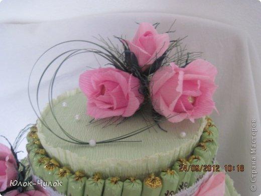 доброго всем дня. сегодня я хочу показать свои тортики. вот этот заказали на День рождения девочки.  фото 2