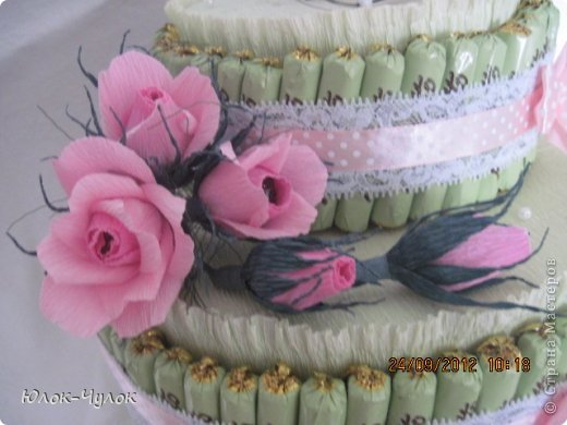доброго всем дня. сегодня я хочу показать свои тортики. вот этот заказали на День рождения девочки.  фото 3